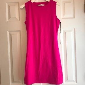 Susana Monaco Hot Pink Dress Size Large NWT